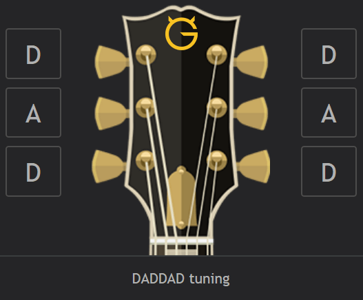 Daddad Tuning Wiki At Ultimate Guitarcom